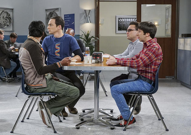 "The Big Bang Theory Photos from ""The Geology Elevation"""