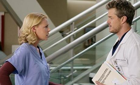 Mark Sloan and Izzie Steves