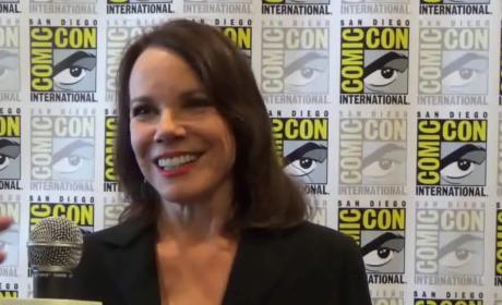 Barbara Hershey Teases Damien