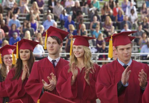 Mystic Falls Graduation Day