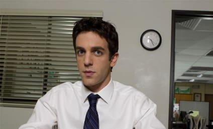 B.J. Novak Extends Contract on The Office