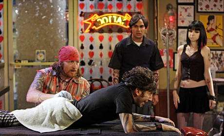 Wolowitz Gets a Tattoo
