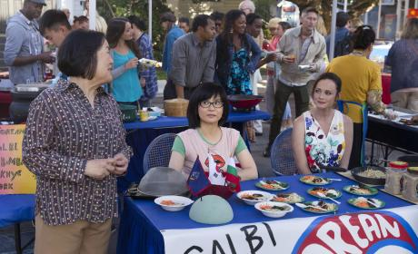 Lane and Mrs. Kim Serve Up the Feels - Gilmore Girls