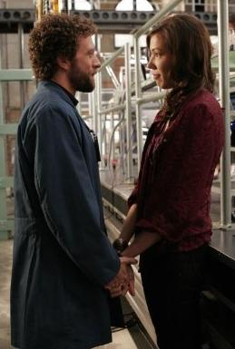 Angela and Hodgins Photo