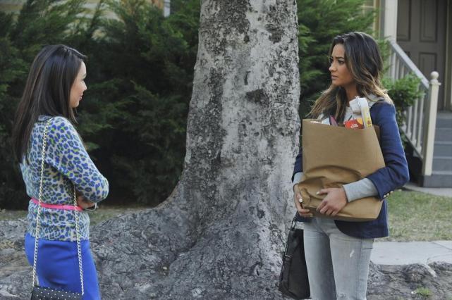 Mona Approaches Emily