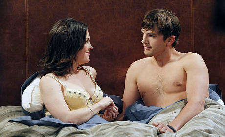 Two and a Half Men Review: Devil and the Deep Blue Sea