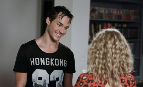 "Chris Wood to Play ""Psychotic"" Villain on The Vampire Diaries Season 6"