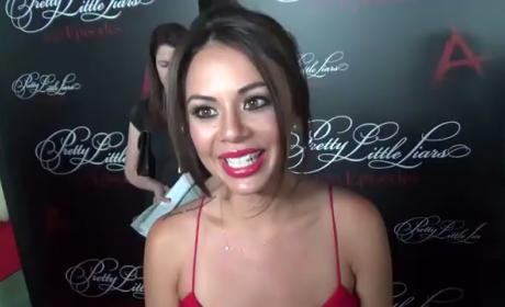 Janel Parrish and Vanessa Ray Interview