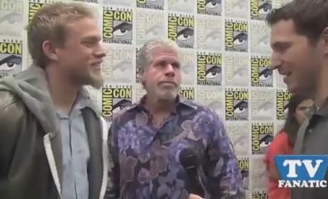 Sons of Anarchy Scoop: Charlie Hunnam and Ron Perlman on Decisions, Devolution Ahead