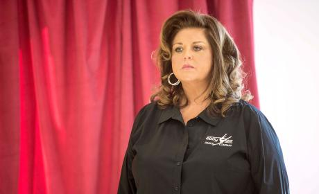 Abby Lee Miller Looks On - Dance Moms