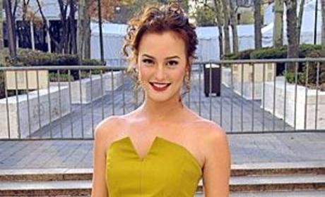 Leighton Meester Shares Workout Tip