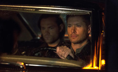 Driving in Twilight - Supernatural Season 10 Episode 4