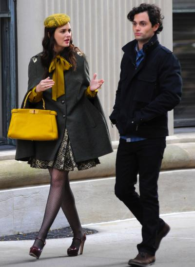 Penn Badgley and Leighton Meester Picture