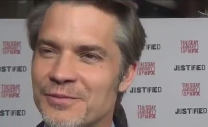 Justified Red Carpet Interviews: Watch Out For The Crowes!
