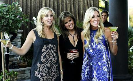 """""""Real Housewives"""" Finale Lives Up to Billing"""
