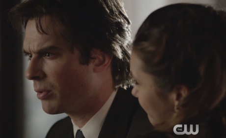 The Vampire Diaries Clip - Eulogy Difficulties