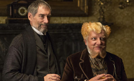 Sir Malcolm and Ferdinand Lyle  - Penny Dreadful Season 2 Episode 2
