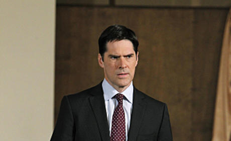 Hotch on Criminal Minds