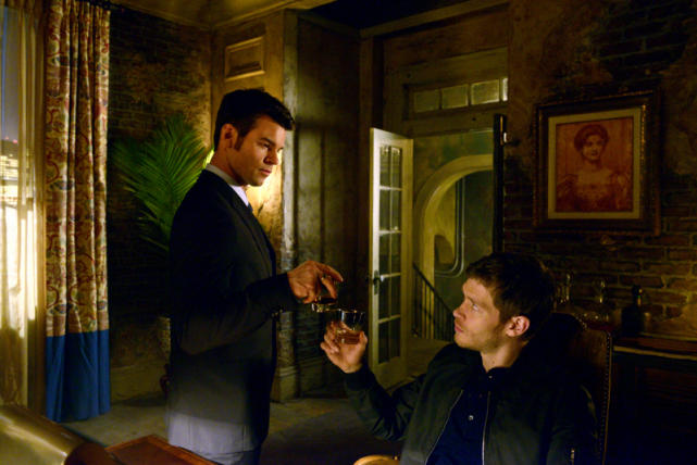 Klaus and Elijah Mikaelson