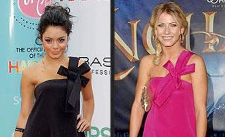 Julianne Hough vs. Vanessa Hudgens