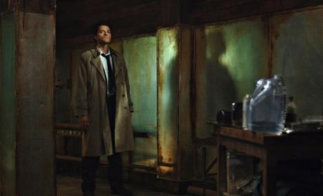 Castiel Looking Ominous
