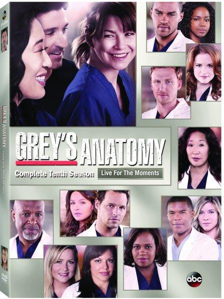 Grey's Anatomy Season 10 DVD