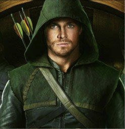 Stephen Amell as Arrow Photograph