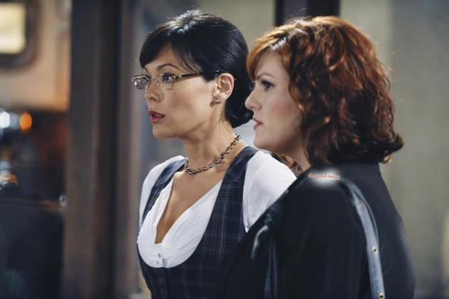 Joanna and Penny looking...
