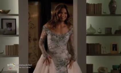 Castle Sneak Peeks: A Dress and A Kiss
