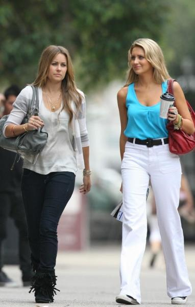 Lauren Conrad and Stephanie Pratt Photo