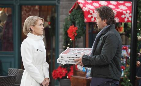 Jennifer's Christmas Invitation - Days of Our Lives