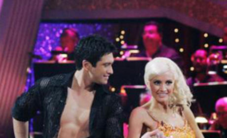Holly Madison and Dmitry Chaplin Photo