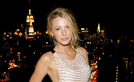 Spotted: Blake Lively at InStyle Party