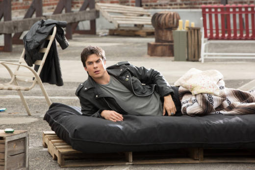 Damon in Bed