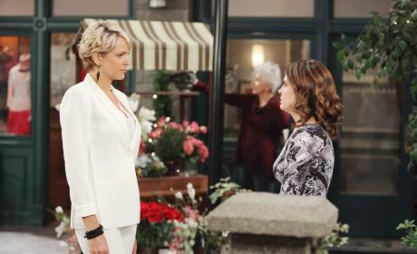 Encouraging Theresa - Days of Our Lives