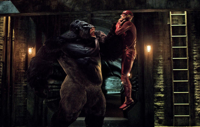 The Flash Season 1 Episode 21 Review: Grodd Lives