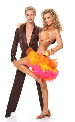 Joanna Krupa and Derek Hough
