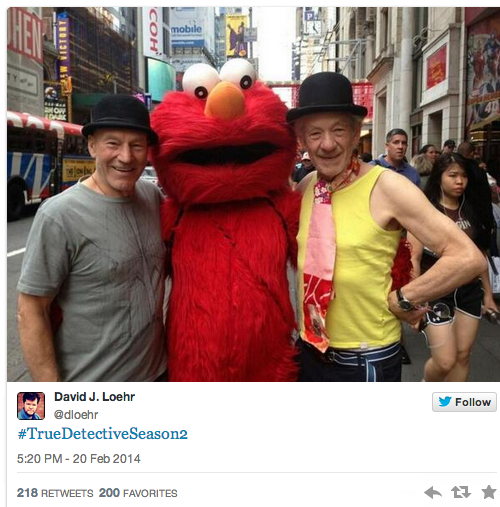 Patrick Stewart and Ian McKellan on True Detective Season 2?