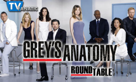 "Grey's Anatomy Round Table: ""Love Turns You Upside Down"""