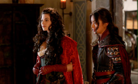 Ruby and Mulan - Once Upon a Time Season 5 Episode 9