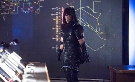 Getting antsy - Arrow Season 4 Episode 21