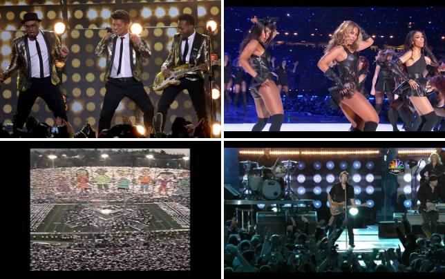 Bruno mars halftime performance