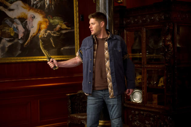 Dean Practices with The First Blade