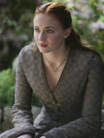 Sansa on Game of Thrones