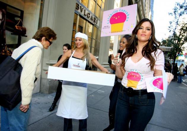 Khloe Kardashian saat tampil di Celebrity Apprentice.
