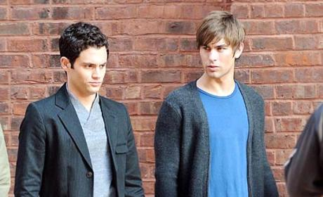 Spotted: Penn Badgley and Chace Crawford