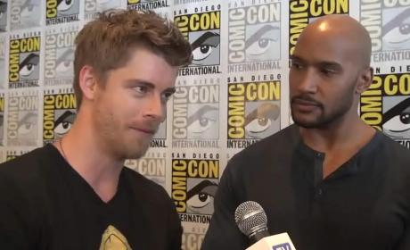 Luke Mitchell and Henry Simmons Interview