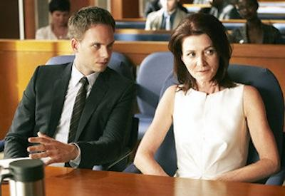 Michelle Fairley on Suits