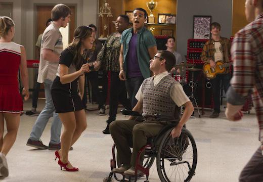 Tina and Artie Dancing