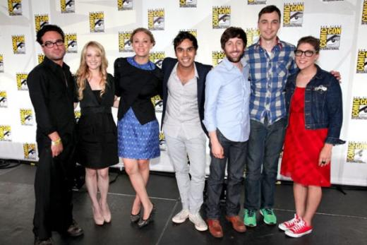 The Big Bang Theory Cast at Comic-Con